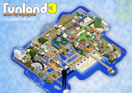 Карта FunLand v3.01 для minecr...